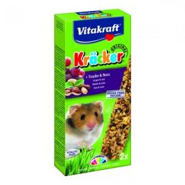 Hrana pentru rozatoare, Vitakraft, Baton Hamsteri, Struguri/Nuci, x 2 BUC