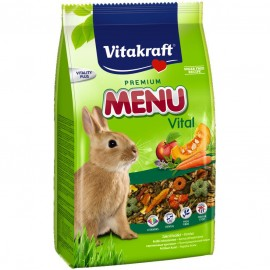 Hrana pentru rozatoare, Vitakraft, Meniu Iepure, 500 g
