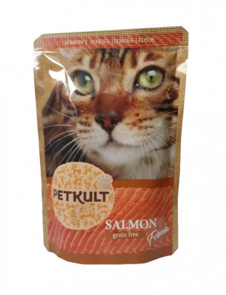 Petkult Cat, Somon, 100G