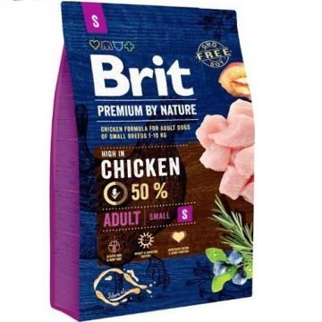 Hrana uscata pentru caini, Brit Premium by Nature, Adult S-small, 8 KG