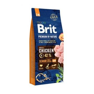 Hrana uscata pentru caini, Brit Premium by Nature Senior Large/Extra large, 15 Kg