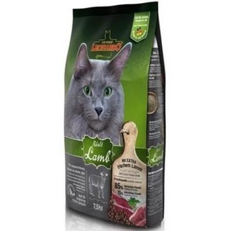 Hrana uscata pentru pisici, Leonardo, Adult Sensitive Miel, 2 Kg