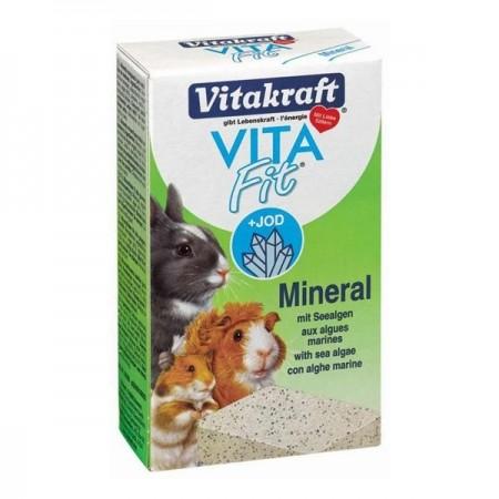 Minerale pentru rozatoare, Vitakraft, Hamster, Bloc Mineral Alge