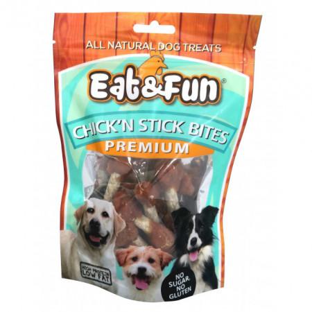 Eat&Fun, Chick'n Stick Bites, 100 G