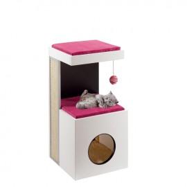 Ansamblul de joaca pentru pisici, Ferplast Diablo, 80 cm
