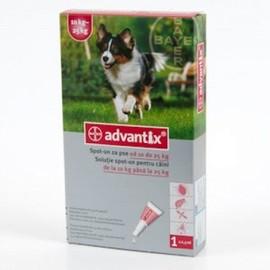 Antiparazitare Advantix 250 (10-25 kg) x 1 pipeta