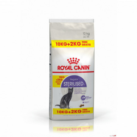 Royal Canin, Sterilised 37, 10 + 2 Kg