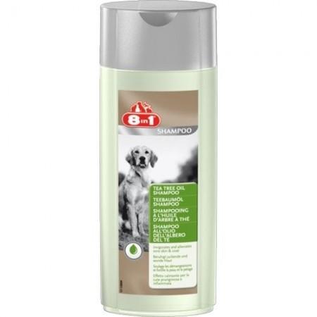 Sampon pentru caine, 8in1, Tea Tree Oil, 250 ml