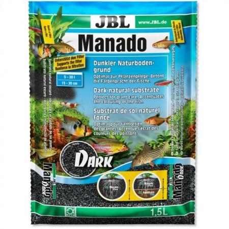 Substrat pentru acvariu, JBL Manado DARK 10 l