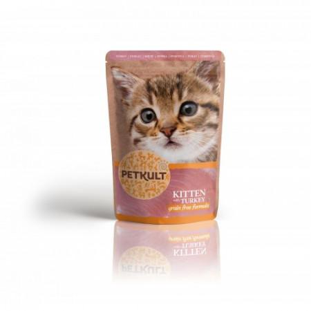 Petkult Kitten, Curcan,100G