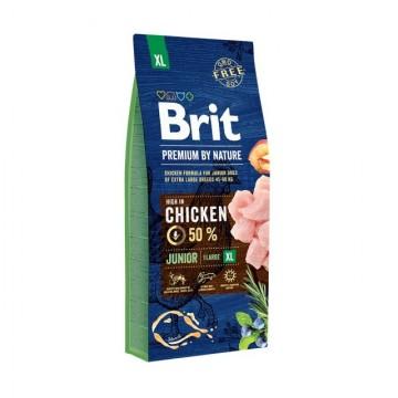 Hrana uscata pentru caini, Brit Premium by Nature, Junior XL, 15 Kg