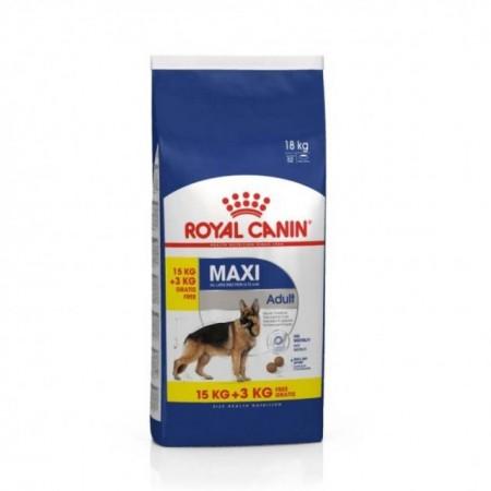 Hrana uscata pentru caini, Royal Canin, Maxi Adult, 15+3 Kg