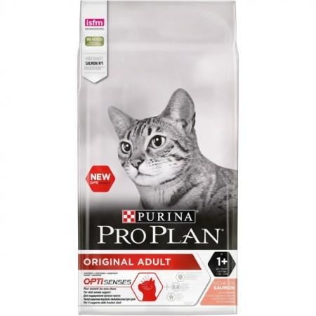 Hrana uscata pentru pisici, Pro Plan, Cat Adult Somon, 10 Kg