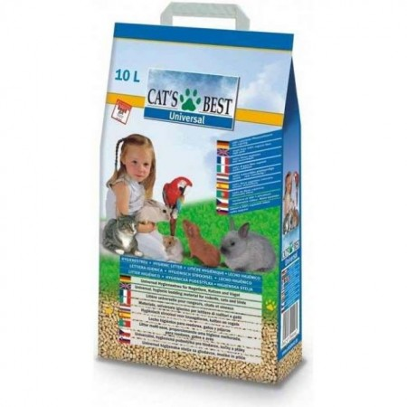 Asternut natural rozatoare, Cat's Best Universal, 40 L