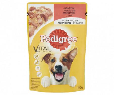 Hrana umeda pentru caini, Pedigree, Vita, 100 G