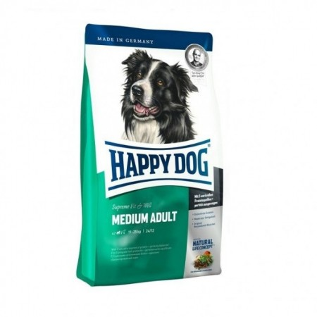 Hrana uscata pentru caini, Happy Dog, Supreme Fit & Well Adult Medium, 12.5 Kg