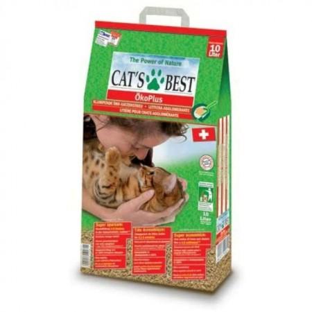 Nisip pentru pisici, Cat's Best Oko Plus, 10L