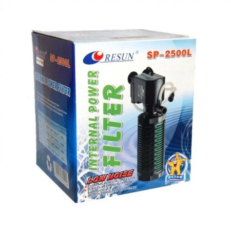 Filtru intern pentru acvariu, Resun, SP-2500L