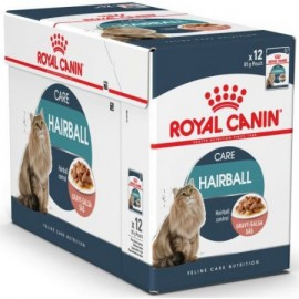 Hrana umeda pentru pisici, Royal Canin, Hairball Care, 12X85G