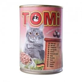 Hrana umeda pentru pisici, Tomi, Vitel, conserva 400 g
