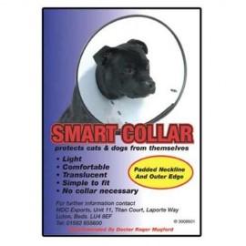 Colier din plastic pentru caini, Smart Collar 1 (6-10/16-25)