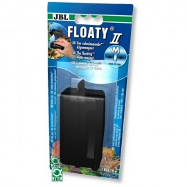 Curatator magnetic sticla acvariu, JBL Floaty II L