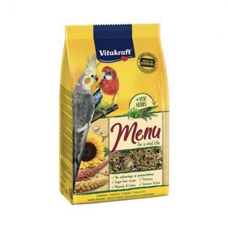 Hrana pentru pasari, Vitakraft, Meniu Nimfa, 1 Kg