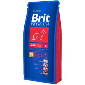 Hrana uscata caini Brit Premium Adult L- talie mare, 3 KG