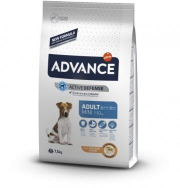 Hrana uscata pentru caini, Advance, Mini Adult, 7,5 Kg