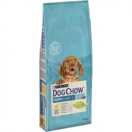 Hrana uscata pentru caini, Dog Chow, Puppy Pui, 14 kg