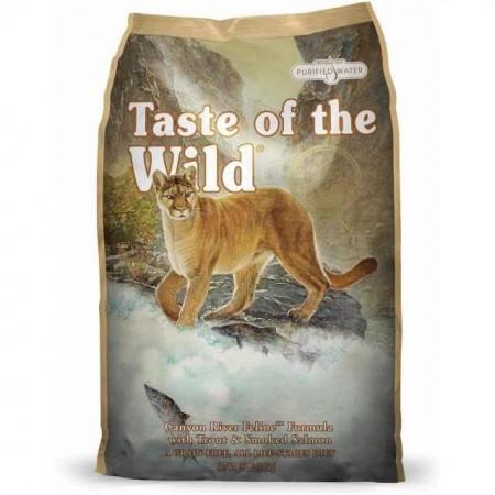 Hrana uscata pentru pisici, Taste of the Wild, Canyon River, 6,6 Kg
