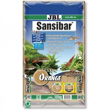 Substrat pentru acvariu, JBL Sansibar Orange, 10kg