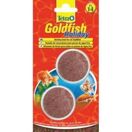 Hrana pentru pesti acvariu, Tetra, Goldfisch Holiday, 2X12g