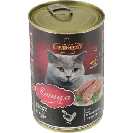 Hrana umeda pisici, Leonardo Pasare, 400 G