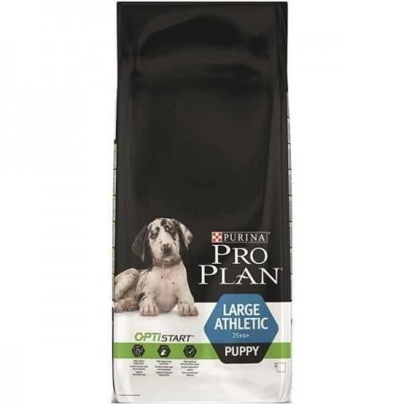 Hrana uscata pentru caini, Pro Plan, Puppy Large Breed Athletic Pui cu Orez, 12 Kg