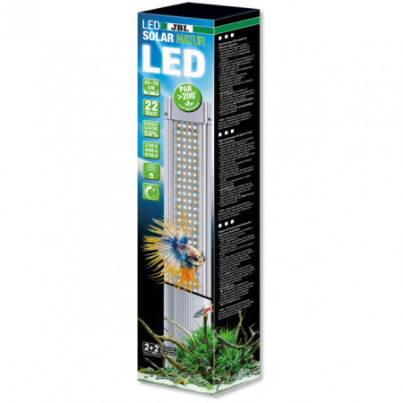 Lampa LED Acvariu, JBL LED Solar Natur 68W, 1449/1500mm