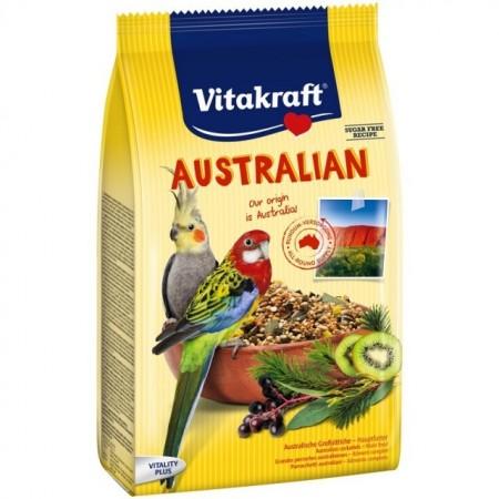 Hrana pentru pasari, Vitakraft, Meniu Australian, 750 g