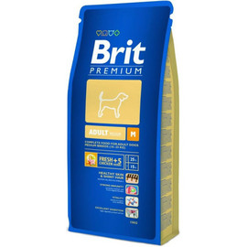 Hrana uscata caini Brit Premium Adult M- talie medie 3 KG