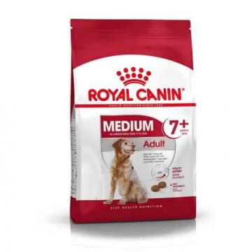Hrana uscata pentru caini, Royal Canin, Medium Adult 7 Plus, 4 Kg