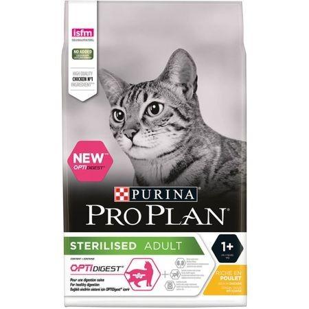 Pro Plan, Sterlized Cat cu Pui, 10kg