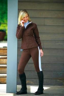 Pantaloni echitatie dama, Ekkia, Pro Fun Line CHOC.42 979322042