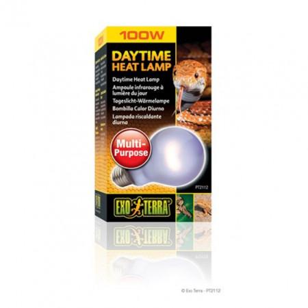 Bec pentru terariu, Exo Terra, Daytime Heat Lamp A21, 100W, PT2112