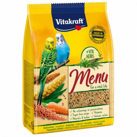 Hrana pentru pasari, Vitakraft, Meniu Perusi, 3 KG