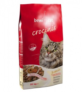 Hrana pentru pisici, Bewi Cat Crocinis, 20 KG