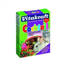 Hrana pentru rozatoare, Vitakraft Chinchilla Cocktail Fructe, 50 g