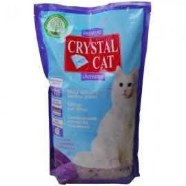Nisip silicat pentru pisici, Crystal Cat Lavanda, 1.75 KG