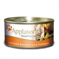 Hrana umeda pentru pisici, Applaws, Piept Pui si Dovlecel, 156 g