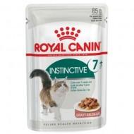Hrana umeda pentru pisici, Royal Canin, Instinctive +7, 85 g