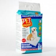 Covorase absorbante pentru caini, Pet Expert, XL 60X90CM, 15 buc