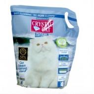 Nisip silicatic pentru pisici, Crystal Cat, Sea Breeze, 3.8L
